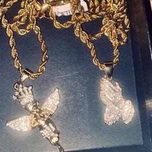 Iced out necklace